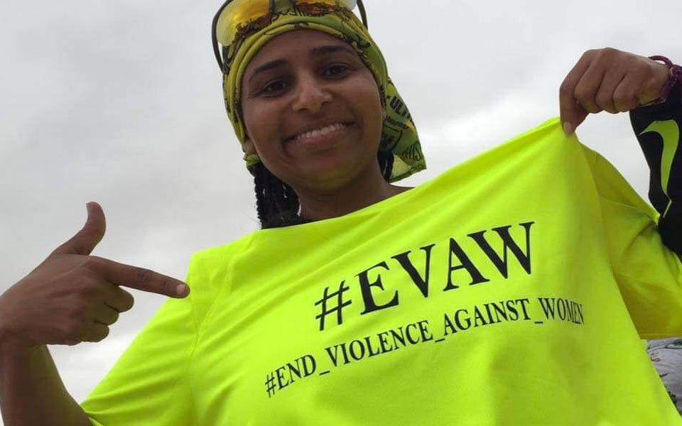 #EVAW end violence against women - omaima