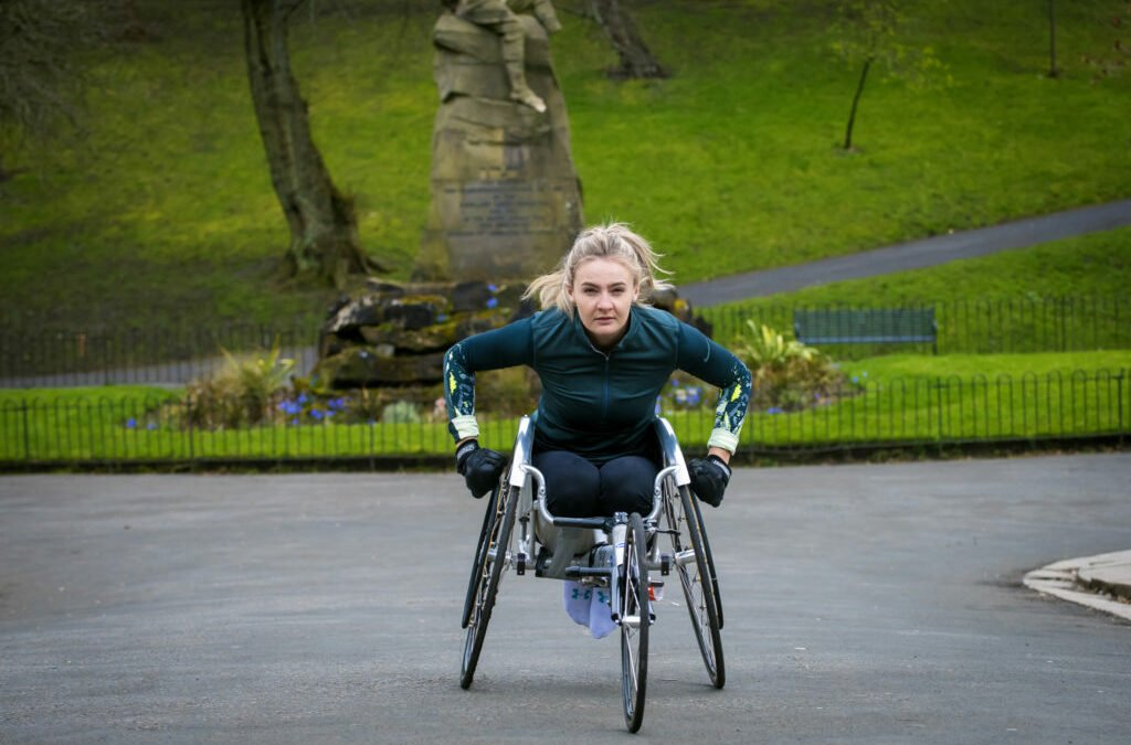 MELANIE: 3 MARATHONS in 3 DAYS with NEW WHEELCHAIR SKILLS