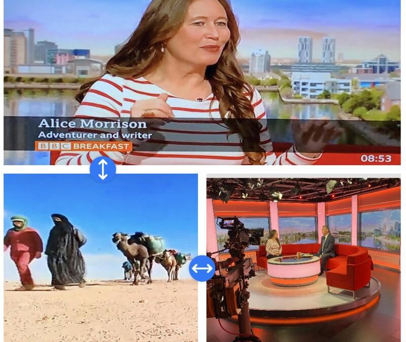 Alice Morrision – BBC Breakfast Interview on her Sahara Expedition
