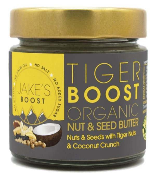 Jakes boost tiger boost nut butter